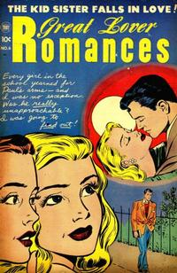 Cover Thumbnail for Great Lover Romances (Toby, 1951 series) #6