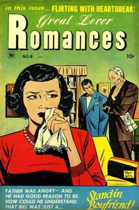 Cover Thumbnail for Great Lover Romances (Toby, 1951 series) #8