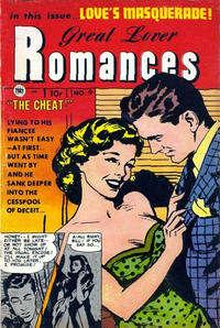 Cover Thumbnail for Great Lover Romances (Toby, 1951 series) #9