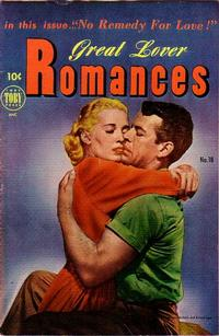 Cover Thumbnail for Great Lover Romances (Toby, 1951 series) #18