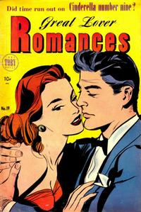 Cover Thumbnail for Great Lover Romances (Toby, 1951 series) #19