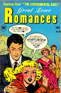 Cover Thumbnail for Great Lover Romances (Toby, 1951 series) #20
