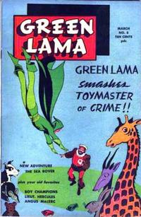 Cover Thumbnail for Green Lama (Spark Publications, 1944 series) #8
