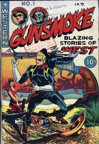 Cover Thumbnail for Gunsmoke (Youthful, 1949 series) #1