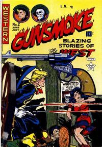 Cover Thumbnail for Gunsmoke (Youthful, 1949 series) #2