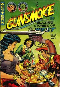 Cover Thumbnail for Gunsmoke (Youthful, 1949 series) #3