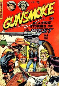 Cover Thumbnail for Gunsmoke (Youthful, 1949 series) #4