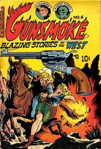 Cover Thumbnail for Gunsmoke (Youthful, 1949 series) #6