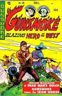 Cover for Gunsmoke (Youthful, 1949 series) #10