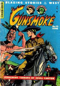 Cover Thumbnail for Gunsmoke (Youthful, 1949 series) #13