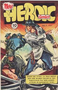Cover Thumbnail for Heroic Comics (Eastern Color, 1943 series) #38