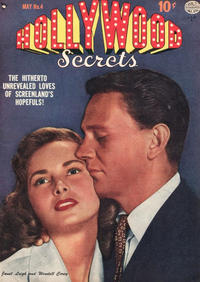 Cover Thumbnail for Hollywood Secrets (Quality Comics, 1949 series) #4