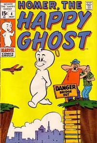 Cover Thumbnail for Homer, the Happy Ghost (Marvel, 1969 series) #4