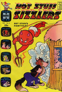 Cover for Hot Stuff Sizzlers (Harvey, 1960 series) #14