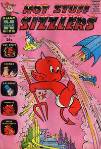 Cover Thumbnail for Hot Stuff Sizzlers (Harvey, 1960 series) #16