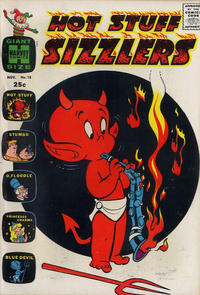 Cover Thumbnail for Hot Stuff Sizzlers (Harvey, 1960 series) #18