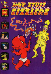 Cover for Hot Stuff Sizzlers (Harvey, 1960 series) #19
