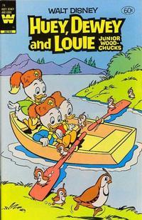 Cover Thumbnail for Walt Disney Huey, Dewey and Louie Junior Woodchucks (Western, 1966 series) #76