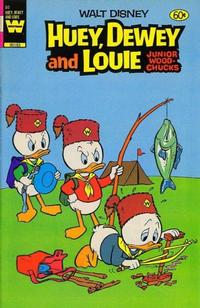 Cover Thumbnail for Walt Disney Huey, Dewey and Louie Junior Woodchucks (Western, 1966 series) #80