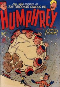 Cover for Humphrey Comics (Harvey, 1948 series) #21