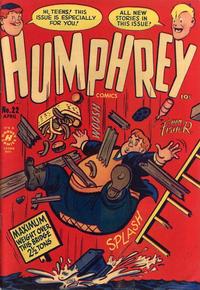 Cover Thumbnail for Humphrey Comics (Harvey, 1948 series) #22