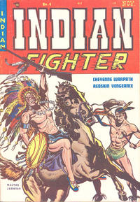 Cover Thumbnail for Indian Fighter (Youthful, 1950 series) #4