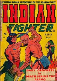 Cover Thumbnail for Indian Fighter (Youthful, 1950 series) #6