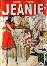 Cover Thumbnail for Jeanie Comics (Marvel, 1947 series) #20