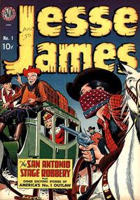 Cover Thumbnail for Jesse James (Avon, 1950 series) #1
