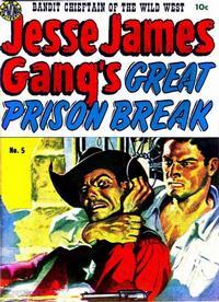 Cover Thumbnail for Jesse James (Avon, 1950 series) #5