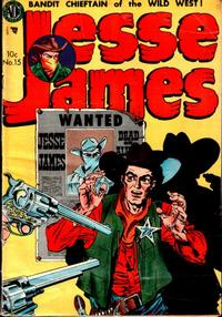Cover Thumbnail for Jesse James (Avon, 1950 series) #15