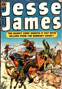 Cover for Jesse James (Avon, 1950 series) #16