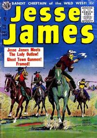 Cover Thumbnail for Jesse James (Avon, 1950 series) #25