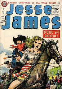 Cover Thumbnail for Jesse James (Avon, 1950 series) #27