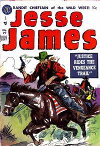 Cover Thumbnail for Jesse James (Avon, 1950 series) #29
