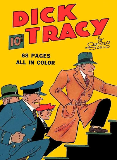 Cover for Four Color (Dell, 1939 series) #1 - Dick Tracy