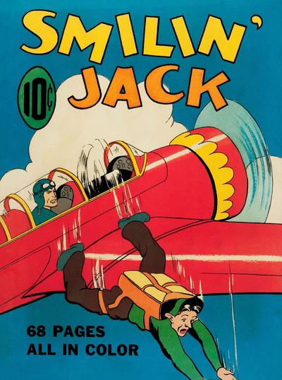 Cover for Four Color (Dell, 1939 series) #5 - Smilin' Jack