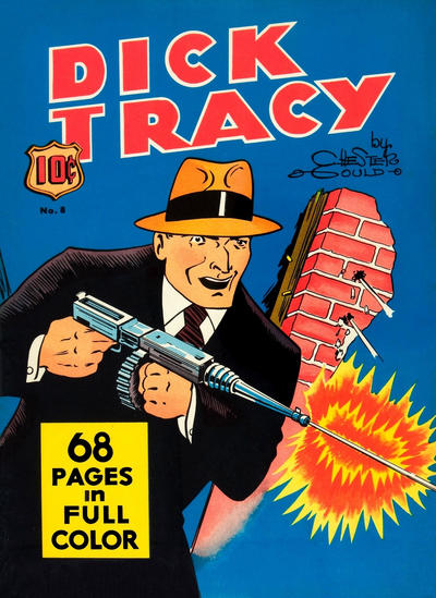 Cover for Four Color (Dell, 1939 series) #8 - Dick Tracy