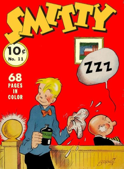 Cover for Four Color (Dell, 1939 series) #11 - Smitty