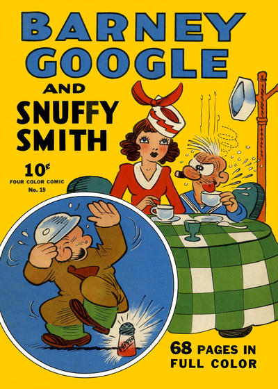 Cover for Four Color (Dell, 1939 series) #19 - Barney Google and Snuffy Smith