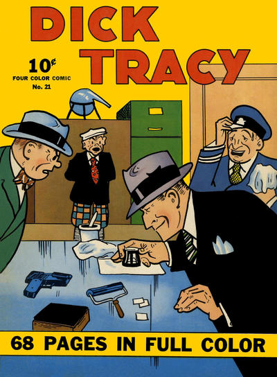 Cover for Four Color (Dell, 1939 series) #21 - Dick Tracy