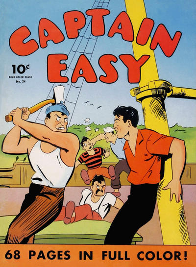 Cover for Four Color (Dell, 1939 series) #24 - Captain Easy