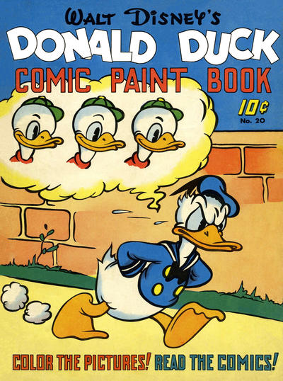Cover for Large Feature Comic (Dell, 1939 series) #20