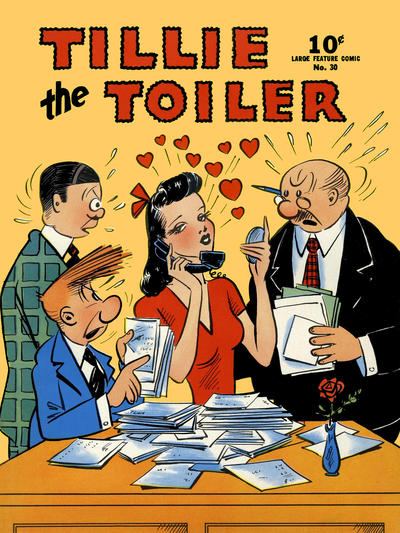 Cover for Large Feature Comic (Dell, 1939 series) #30