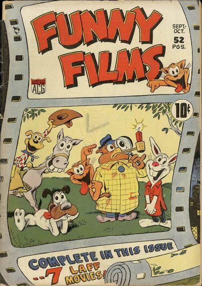 Cover for Funny Films (American Comics Group, 1949 series) #1