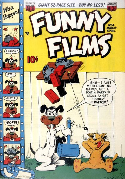 Cover for Funny Films (American Comics Group, 1949 series) #4