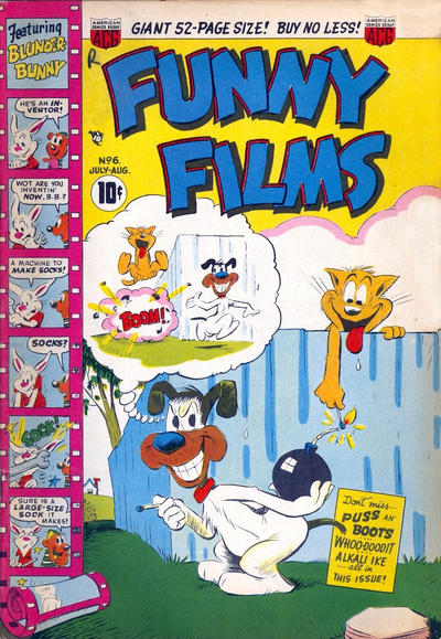 Cover for Funny Films (American Comics Group, 1949 series) #6