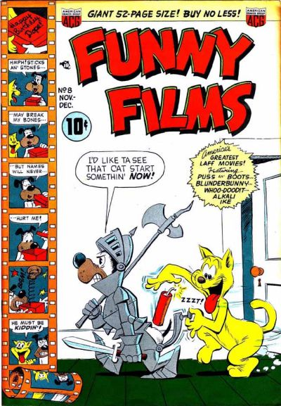 Cover for Funny Films (American Comics Group, 1949 series) #8