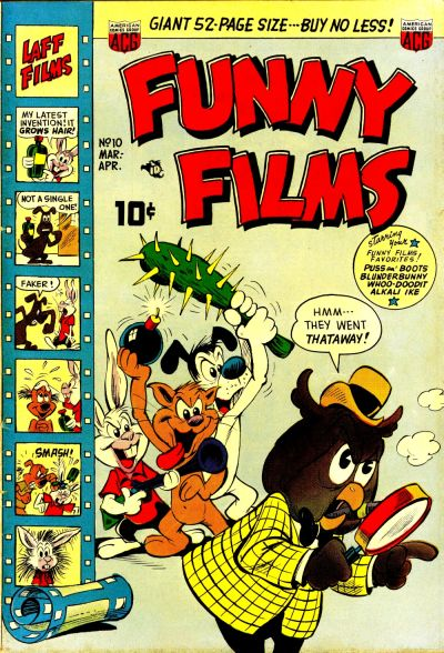 Cover for Funny Films (American Comics Group, 1949 series) #10