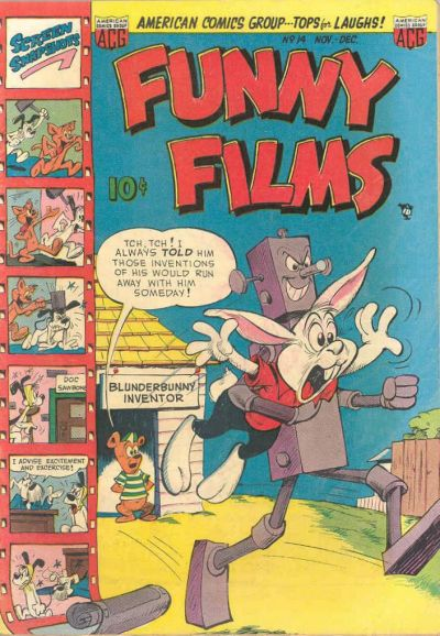 Cover for Funny Films (American Comics Group, 1949 series) #14